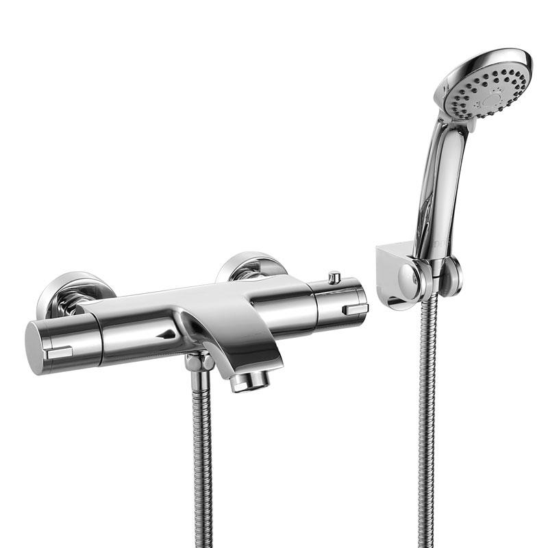 смесители для ванны термостатические и бесконтактные