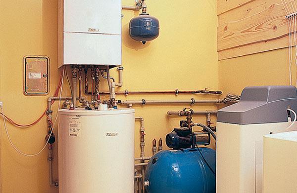 установка газовых отопительных котлов