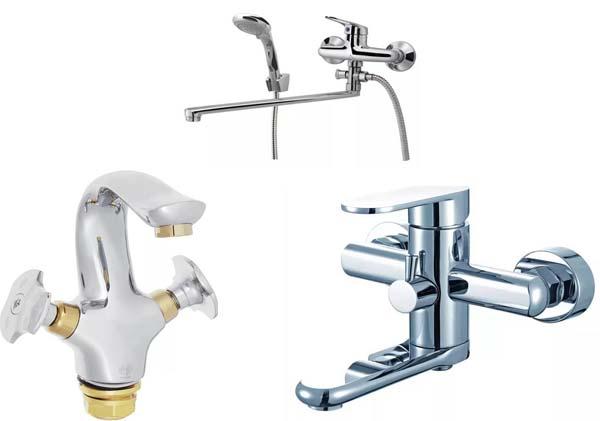 Изливы смесителей для ванной
