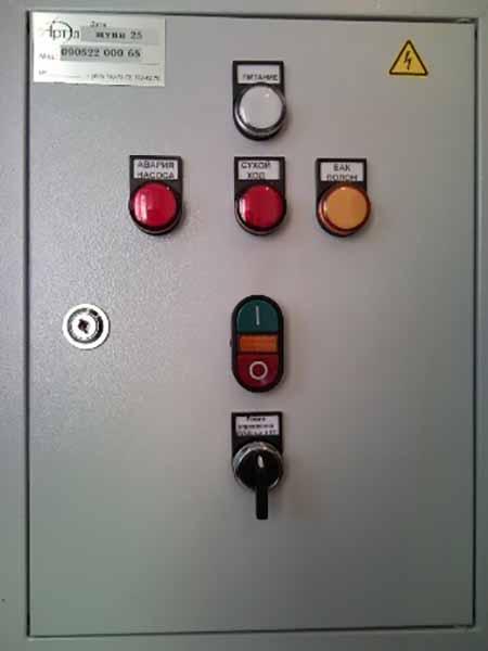 шкаф управления насосами