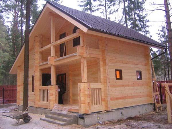 Дом, совмещенный с баней