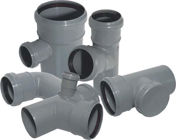 пластиковые тройники для канализации