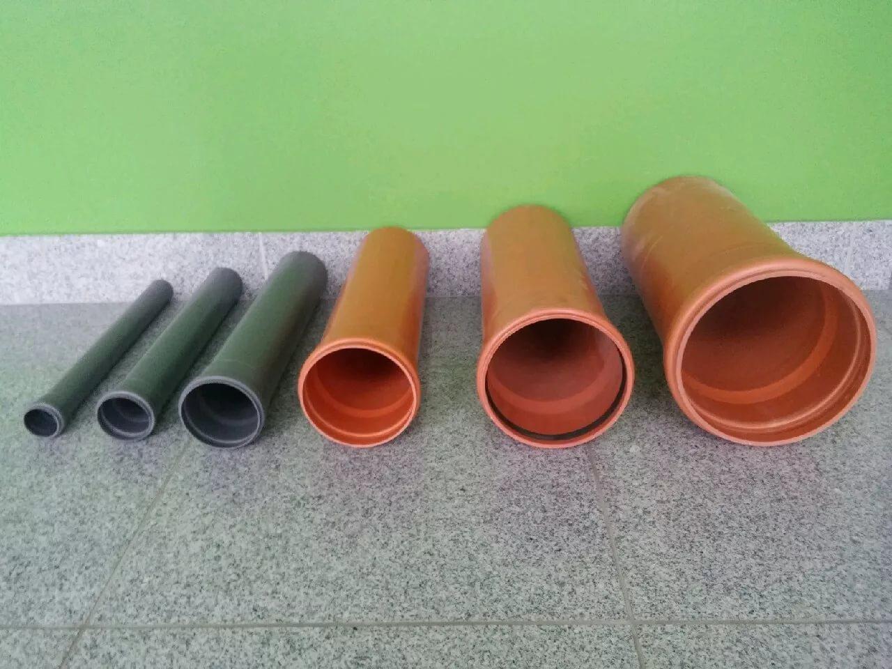 Выбор труб для внутренней канализации