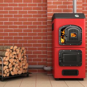 Схема и принцип работы отопительного котла на дровах