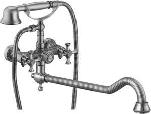 Виды изливов для смесителя в ванну