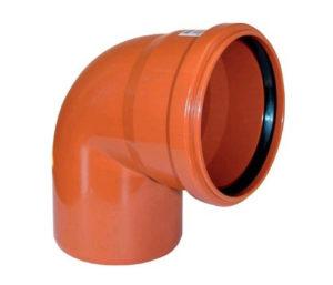 Виды отводов для канализации