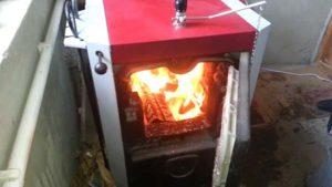 Как работают отопительные котлы на твердом топливе