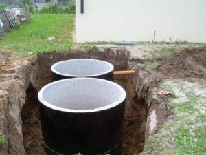 Септик из бетонных колец – достоинства и недостатки