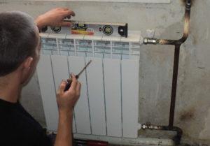 Последовательность установки радиаторов отопления в квартире