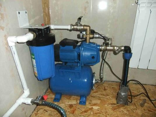 Подключение насосной станции к водопроводу: инструкция