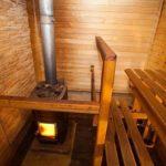 дровяная баня