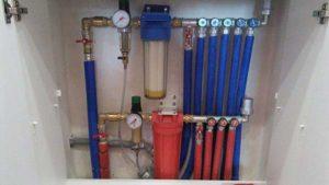 Водопровод в квартире: коллекторная разводка труб